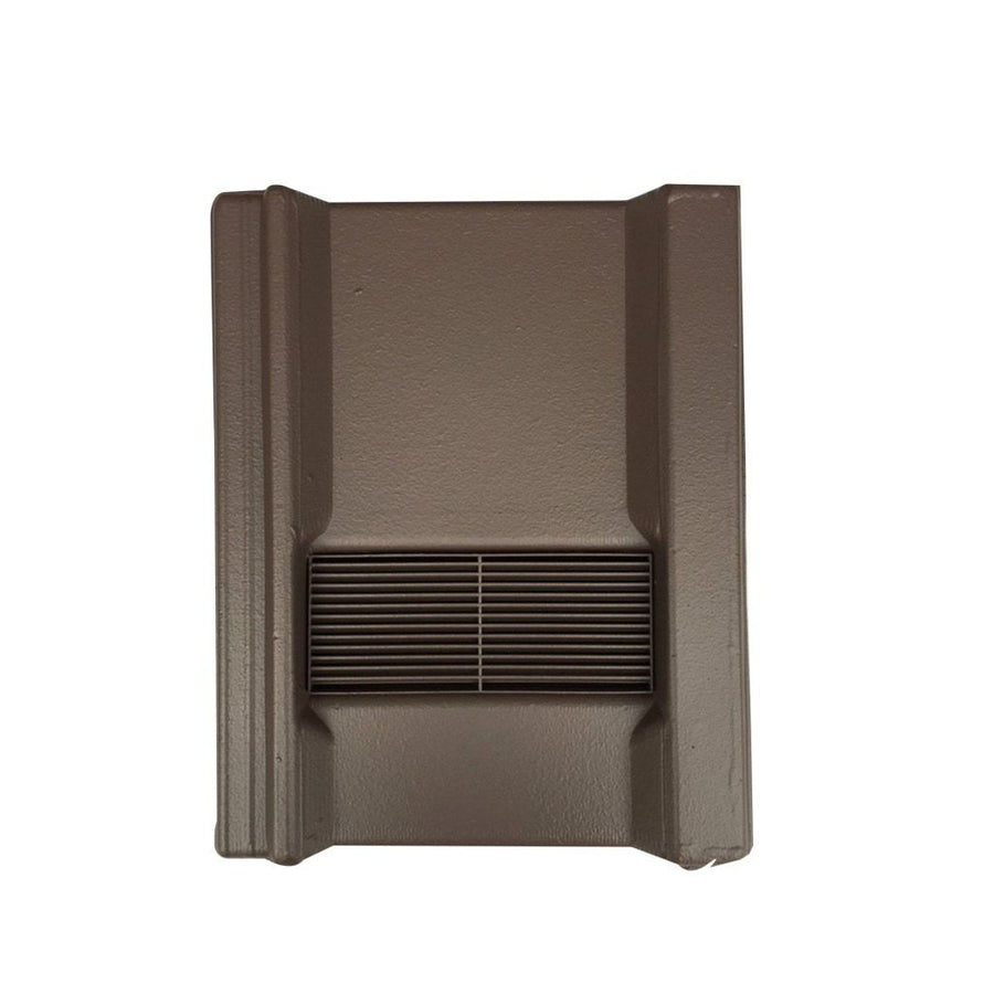 Beddoes Products Inline Marley Wessex Vent Tile Brown - Smooth / Only