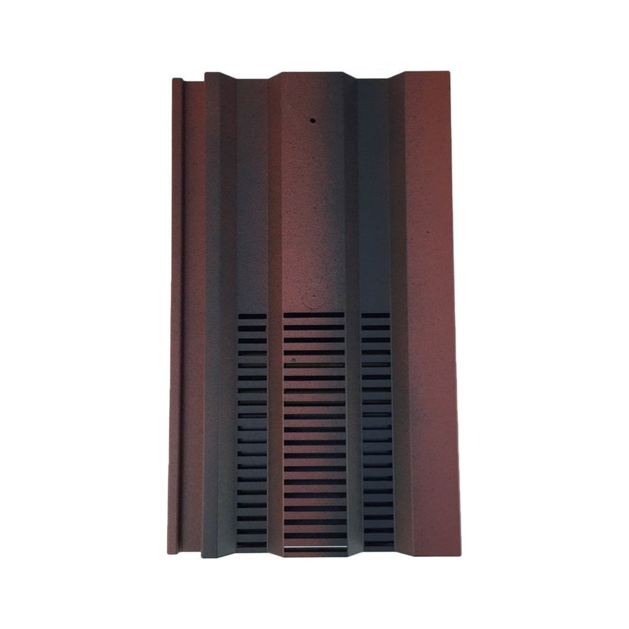 Beddoes Products Inline Redland 49 Vent Tile Old English Dark Red - Smooth