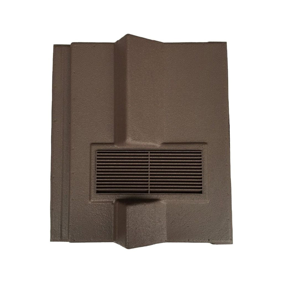 Beddoes Products Inline Redland Delta Roof Tile Vent Brown - Sanded / Only