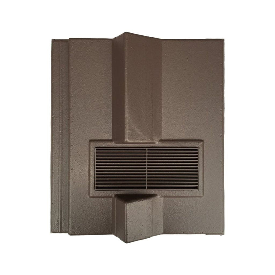 Beddoes Products Inline Redland Delta Roof Tile Vent Brown - Smooth / Only