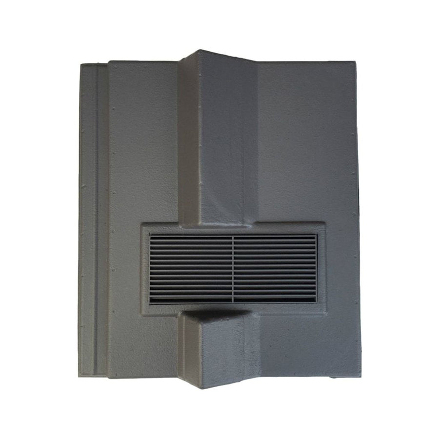 Beddoes Products Inline Redland Delta Roof Tile Vent Grey - Smooth / Only