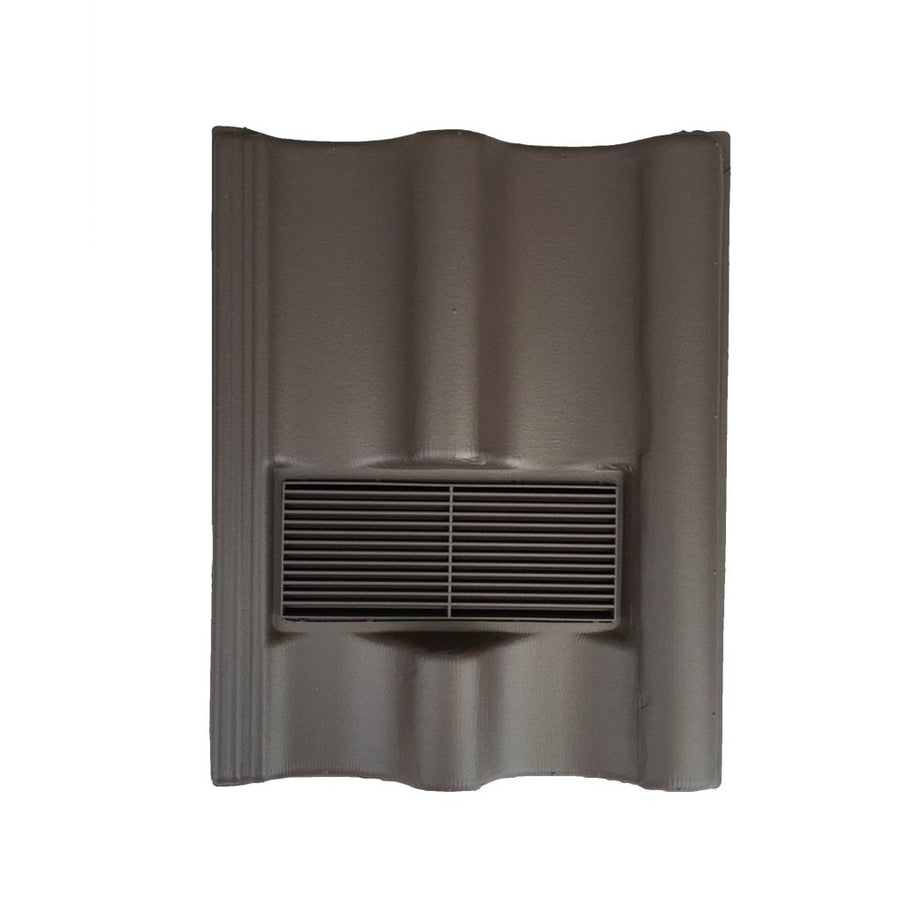 Beddoes Products Inline Redland Grovebury Vent Tile Brown - Smooth