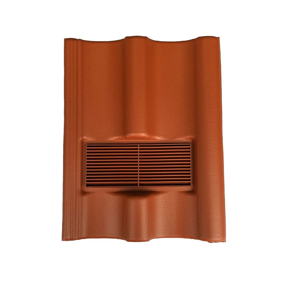 Beddoes Products Inline Redland Grovebury Vent Tile Terracotta - Smooth
