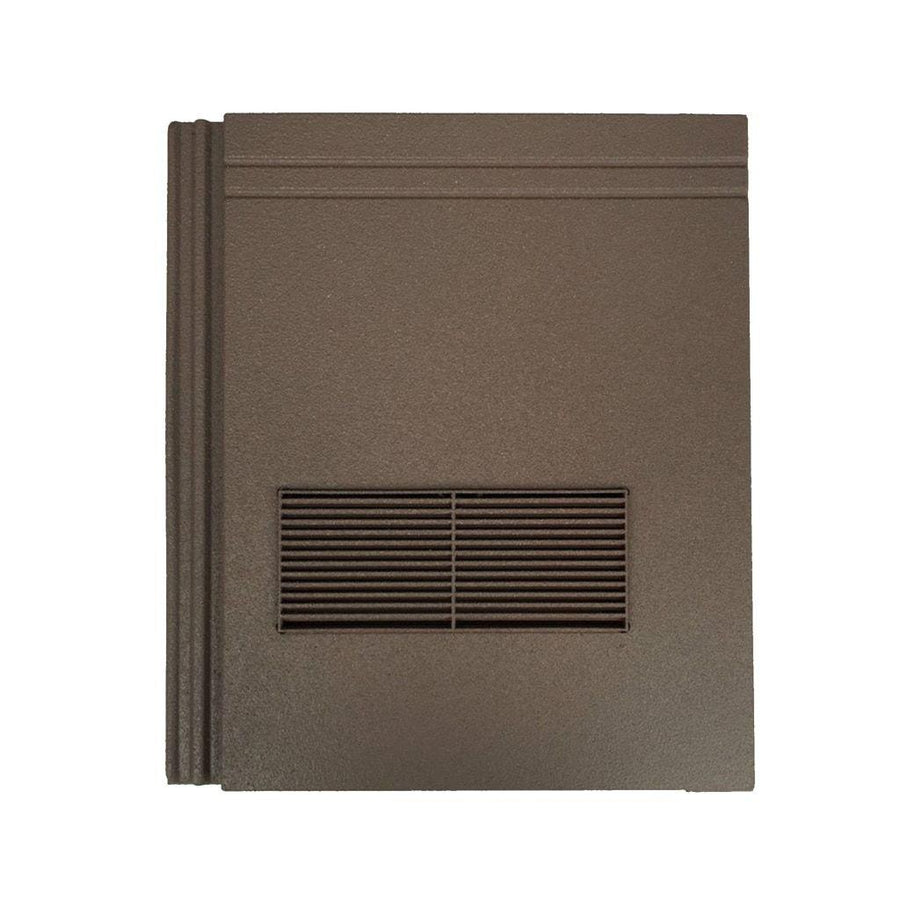 Beddoes Products Inline Redland Stonewold Mk2 Vent Tile Brown Sanded