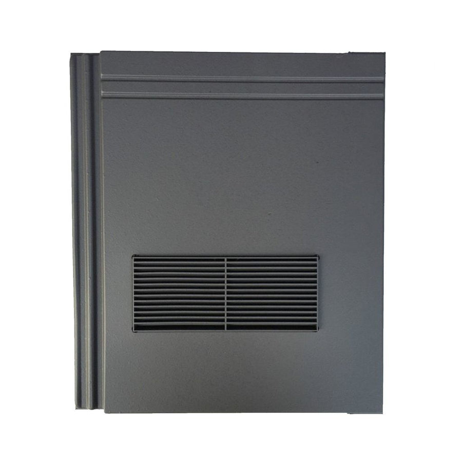 Beddoes Products Inline Redland Stonewold Mk2 Vent Tile Grey Smooth