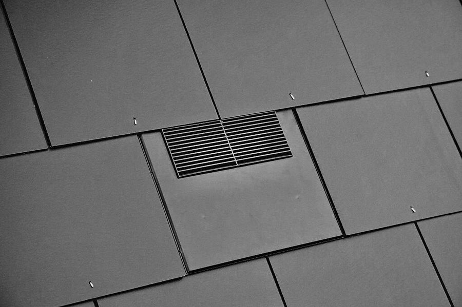 Slate Roof Vent Tile 500 x 250 mm (20 x 10 inch)