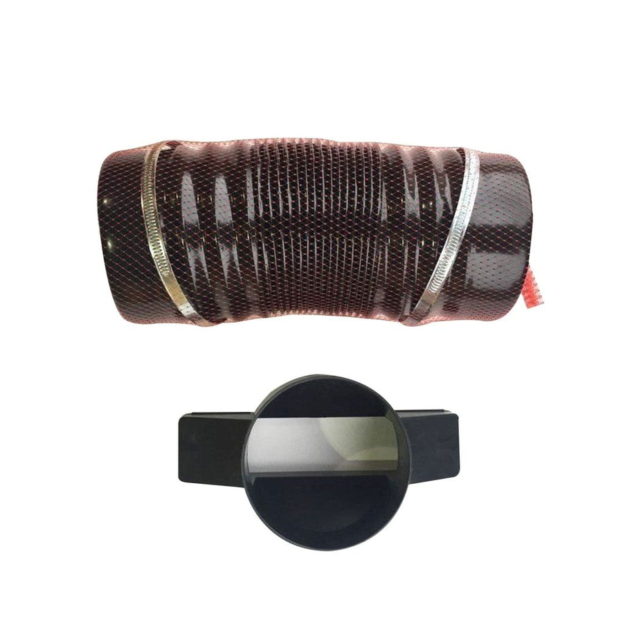 Flexible Pipe Connector Hose For Roof Tile Vent Soil Or Mechanical Extraction + Adaptor