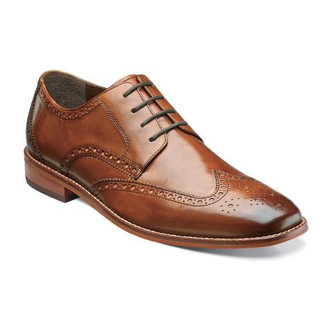 Castellano Wing - 14137-257-Saddle Tan