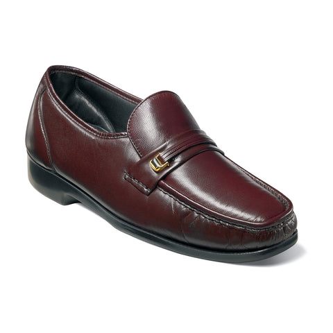 Riva Slip-on - 17088-05-Color:Burgundy