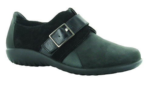 Tane - 11145-NGW-Color:Oily Coal/Black Suede