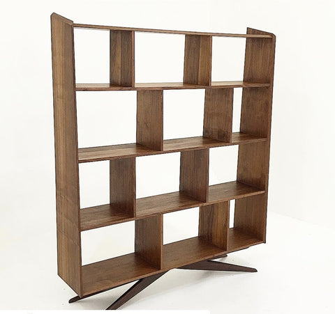 Bruce Walnut Book Shelf