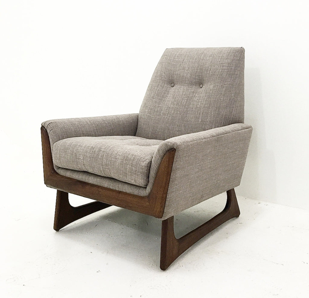 Mid century style lounge chair los angeles furniture