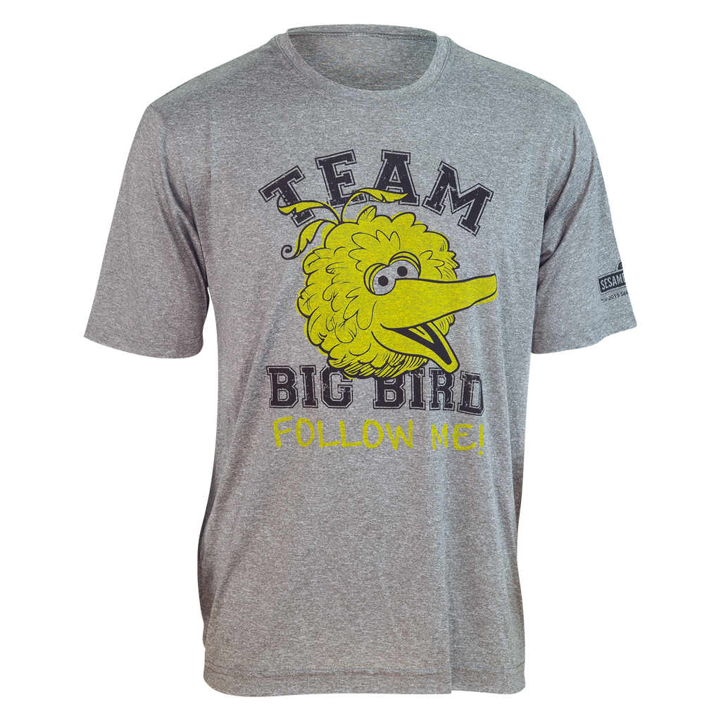 "TEAM BIG BIRD ""Follow Me"" Running Shirt (unisex)"