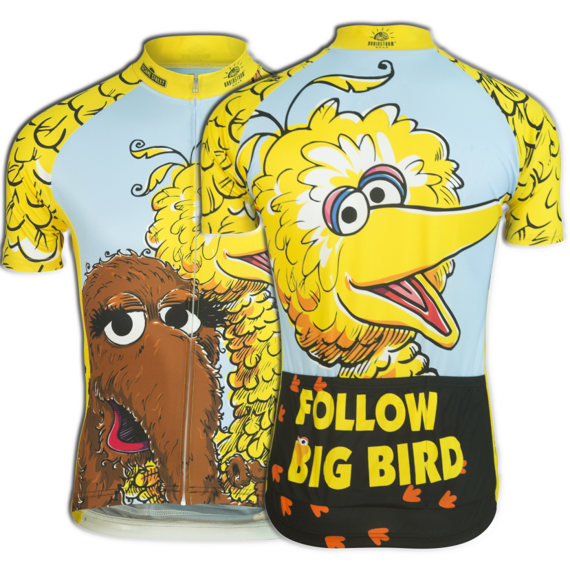 Big Bird & Snuffy Cycling Jersey (Men's)