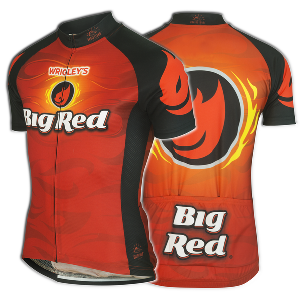 Big Red Cycling Jersey (Men's)