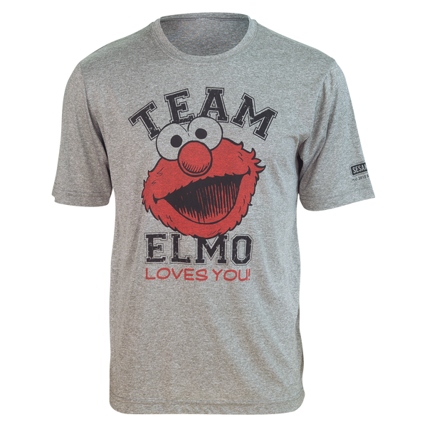 "TEAM ELMO ""Loves You!"" Running Shirt (unisex)"