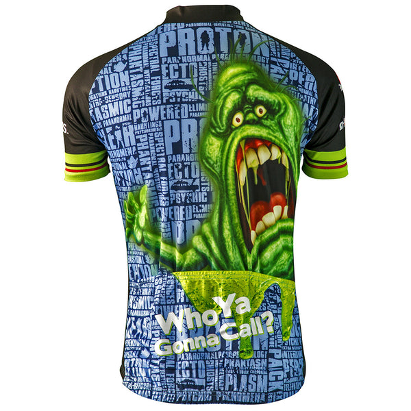 Ghostbusters Slimer Cycling Jersey (Men's)
