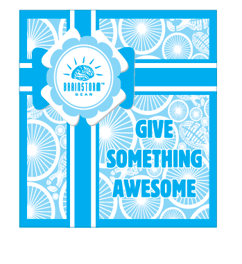 """Give Something Awesome"" eGift Cards - Available for $20, $50 and $100"