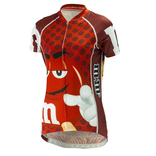 "M&Ms® ""Red"" Cycling Jersey (Women's)"