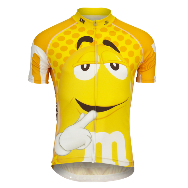 "M&Ms® ""Yellow"" Cycling Jersey (Men's)"