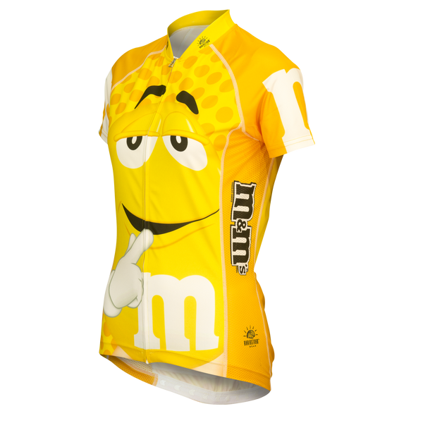 "M&Ms® ""Yellow"" Cycling Jersey (Women's)"