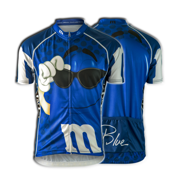 "M&Ms® ""Blue"" Cycling Jersey (Men's)"