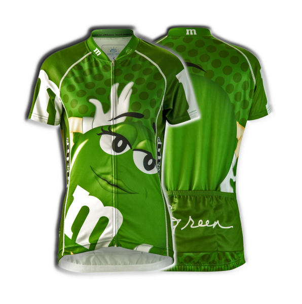 "M&Ms® ""Green"" Cycling Jersey (Women's)"