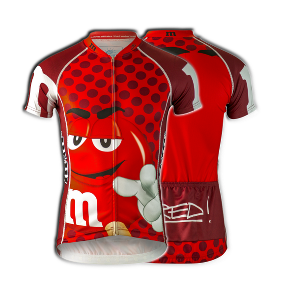 "M&Ms® ""Red"" Cycling Jersey (Men's)"