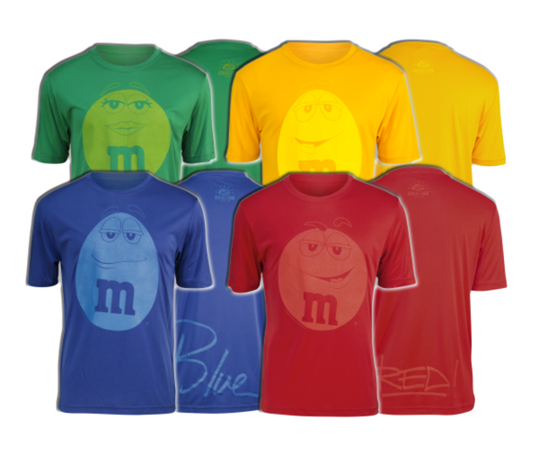 "M&Ms® ""Signature"" Running Shirts (Men's/Unisex)"