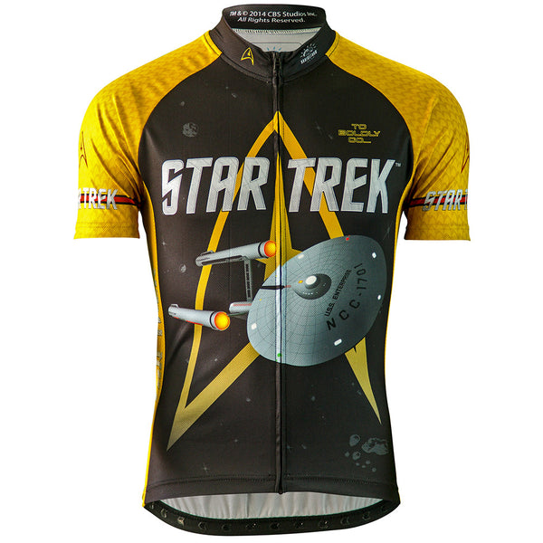 "Star Trek ""Command"" - Gold - Cycling Jersey (Men's)"