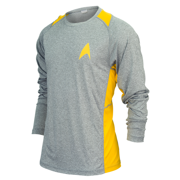 Star Trek Long-Sleeve Running Shirt (unisex)