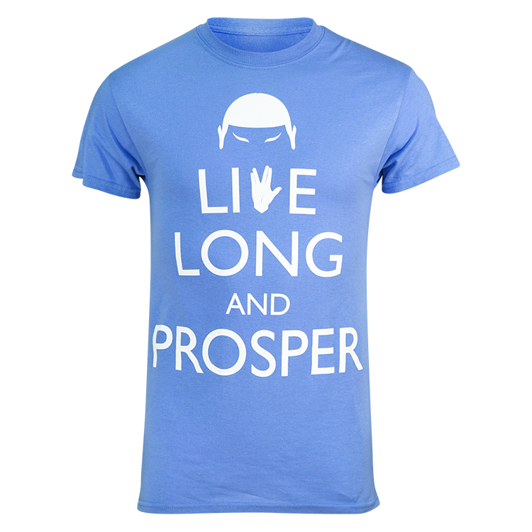 Star Trek Live Long & Prosper Running Shirt (Men's)