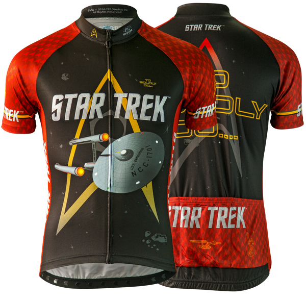 "Star Trek ""Engineering"" - Red - Cycling Jersey (Men's)"