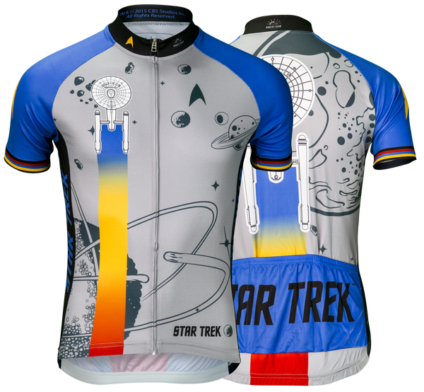 "Star Trek ""Final Frontier"" - Blue - Cycling Jersey (Men's)"