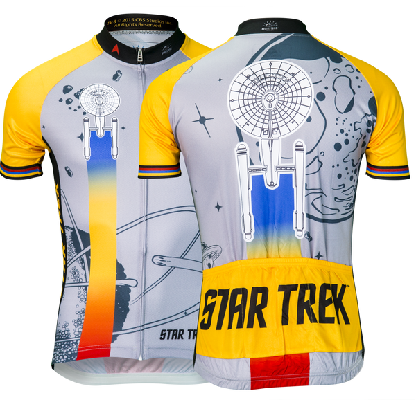 "Star Trek ""Final Frontier"" - Gold - Cycling Jersey (Women's)"