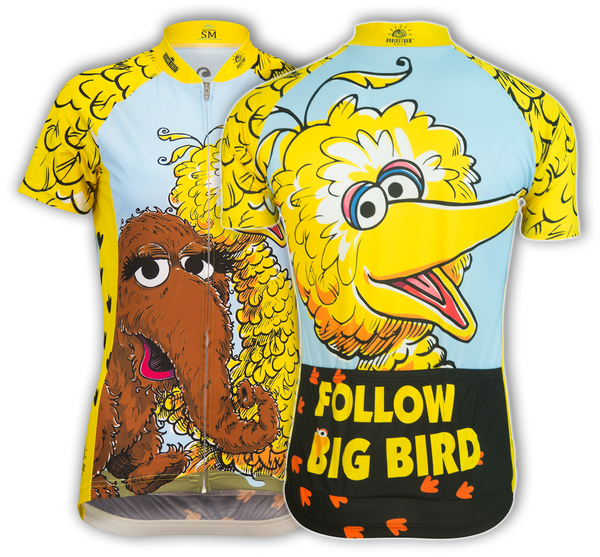 Big Bird & Snuffy Cycling Jersey (Women's)