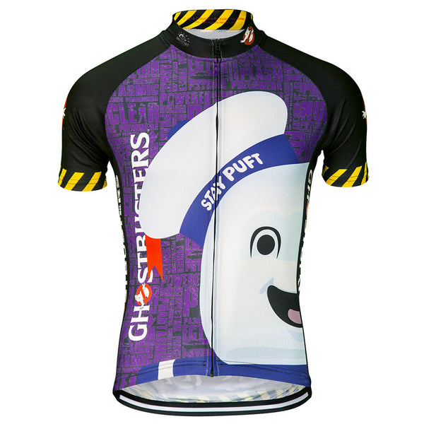 Ghostbusters Stay Puft Cycling Jersey (Men's)