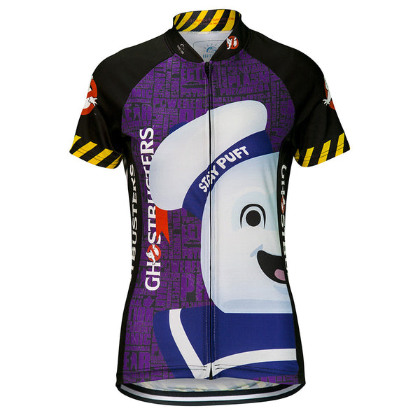 Ghostbusters Stay Puft Cycling Jersey (Women's)