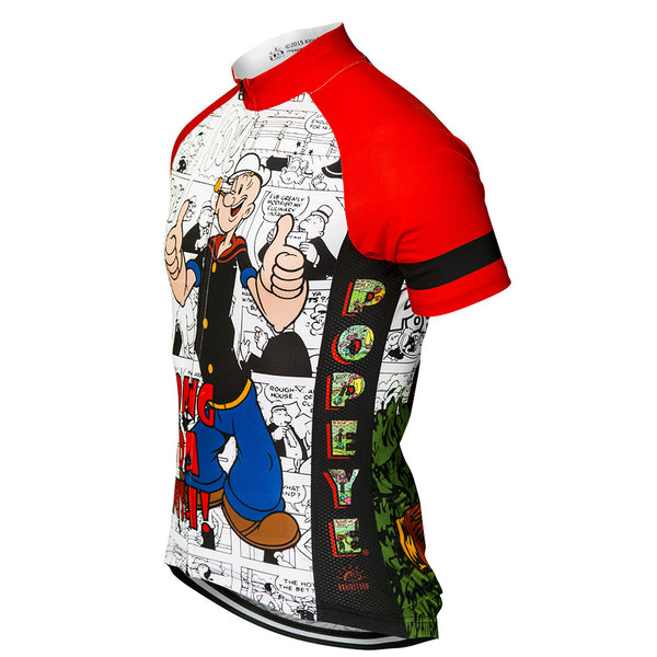 "Popeye ""Strong to da Finish"" Cycling Jersey (Men's)"