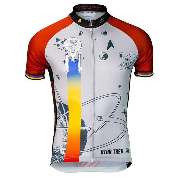 "Star Trek ""Final Frontier"" - Red - Cycling Jersey (Men's)"