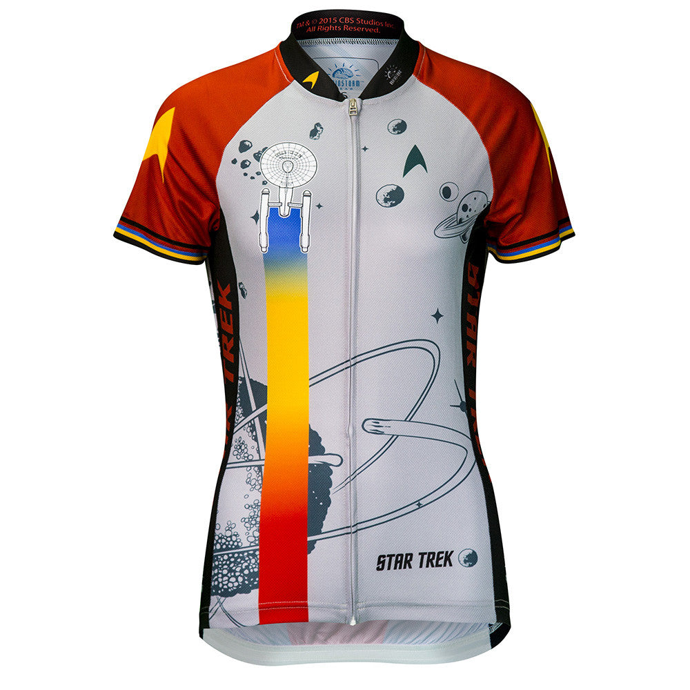 "Star Trek ""Final Frontier"" - Red - Cycling Jersey (Women's)"