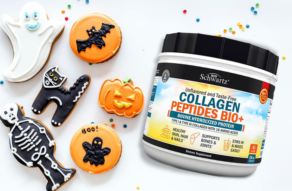 All Treat, No Tricks Halloween Collagen Cookie