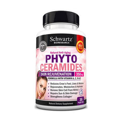 Phytoceramides 350mg with Vitamins A,C,D & E - #1 Beauty Supplement