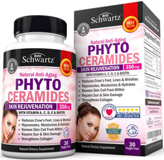 Phytoceramides 350mg with 5,000 mcg of Biotin - The Perfect Skin Supplement