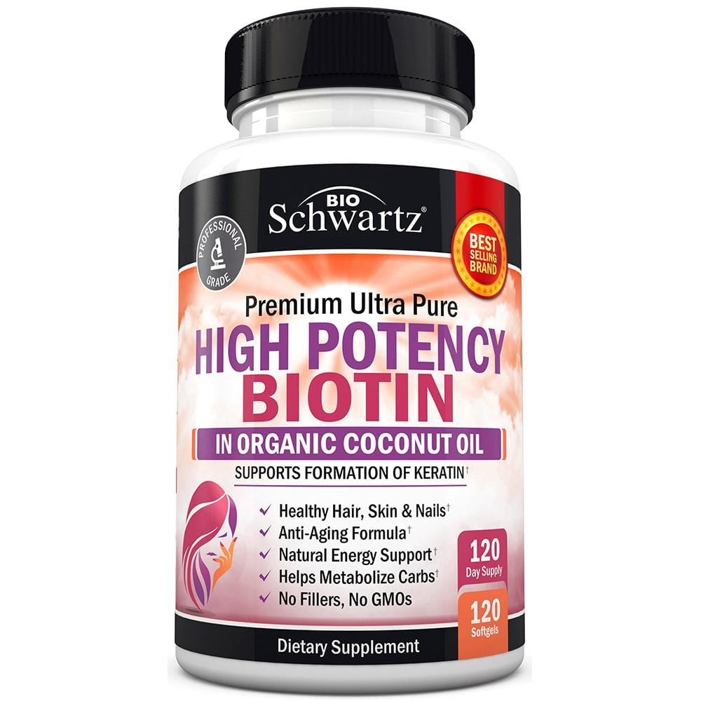 High Potency Biotin Capsules