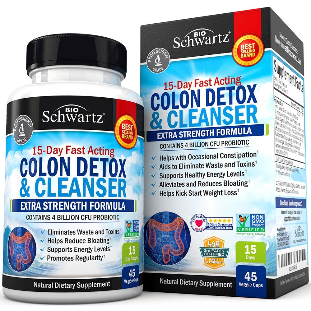 Colon Detox and Cleanser Capsules