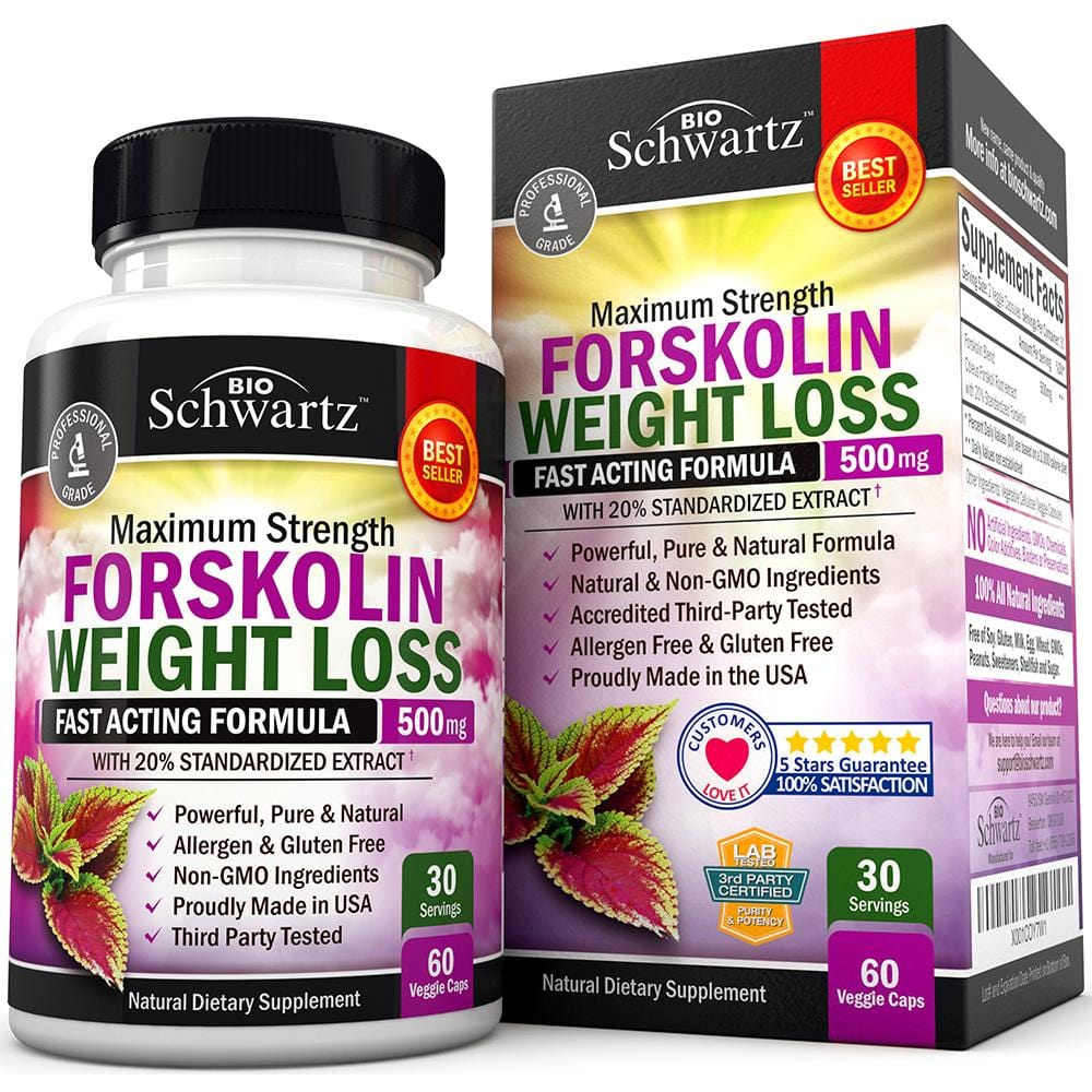 Forskolin Weight Loss Capsules