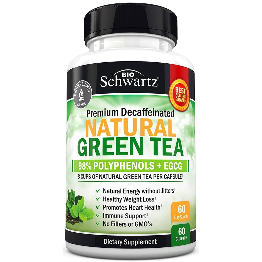 Natural Green Tea Capsules