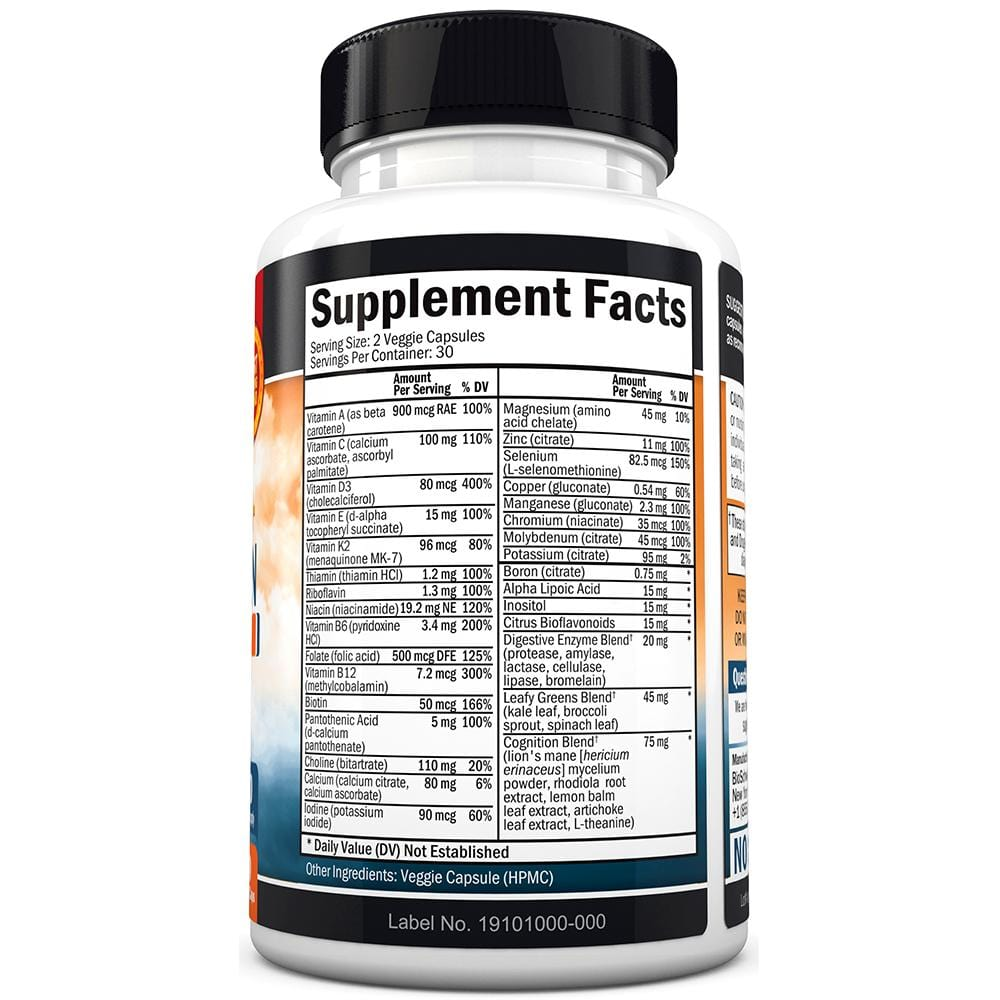 Men's 50+ Multivitamin Capsules