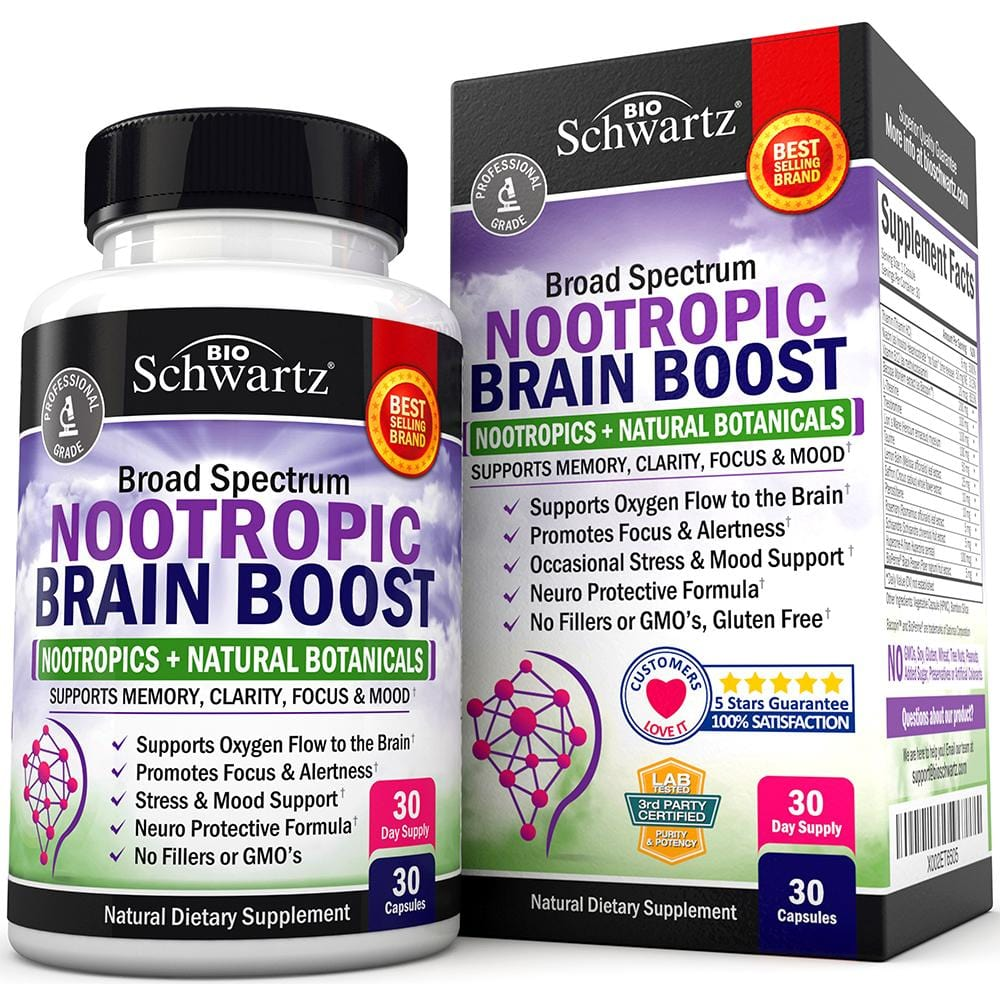 Nootropic Brain Boost Capsules